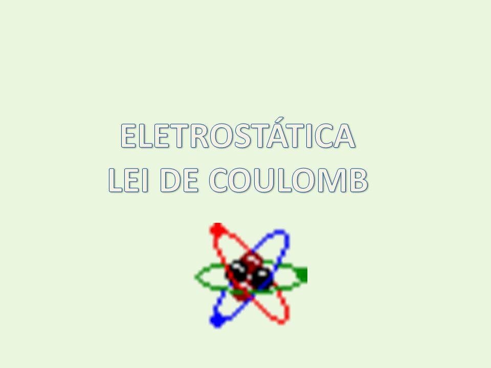 ELETROSTÁTICA LEI DE COULOMB