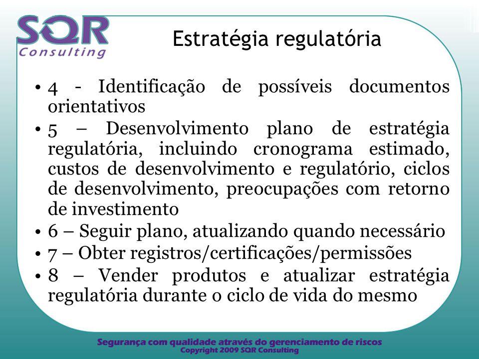 Estratégia regulatória