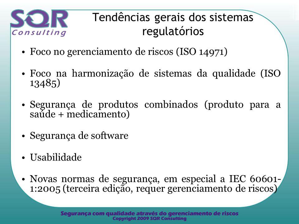 Tendências gerais dos sistemas regulatórios