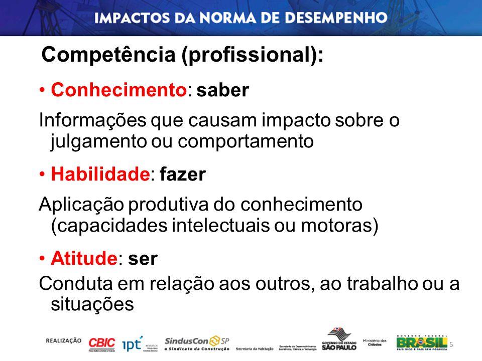 Competência (profissional):