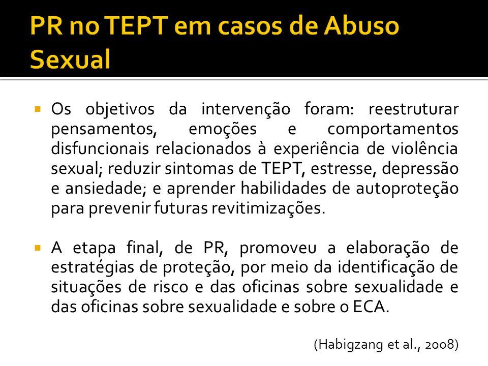PR no TEPT em casos de Abuso Sexual