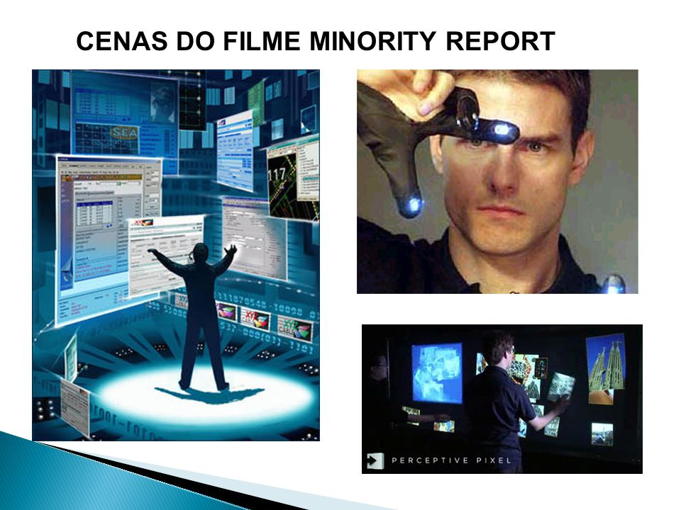 CENAS DO FILME MINORITY REPORT