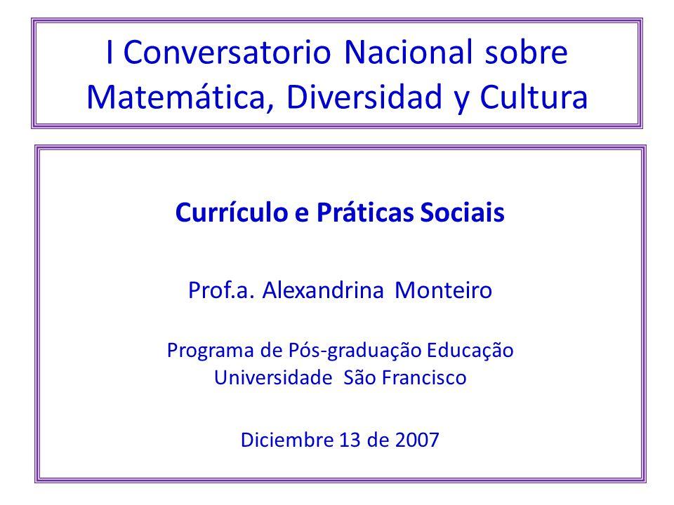 I Conversatorio Nacional sobre Matemática, Diversidad y Cultura