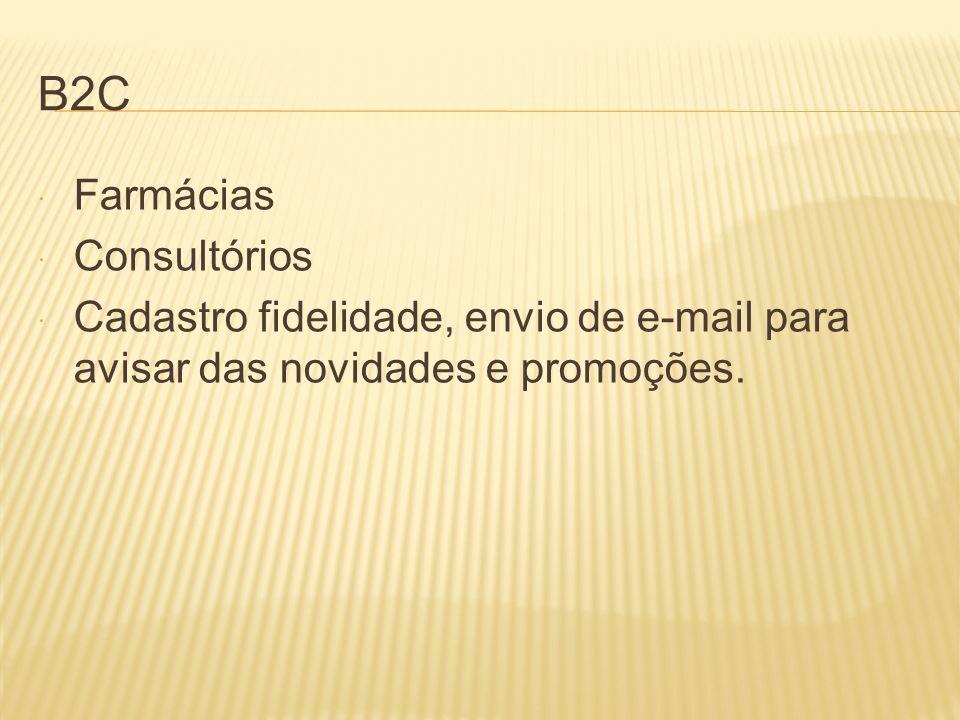 B2C Farmácias Consultórios