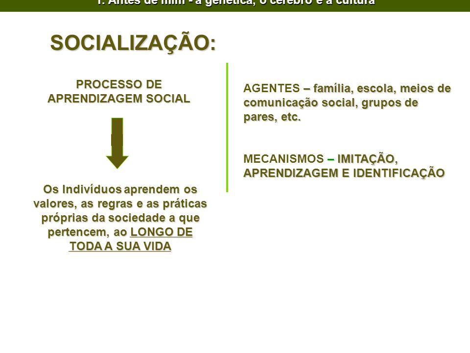 PROCESSO DE APRENDIZAGEM SOCIAL