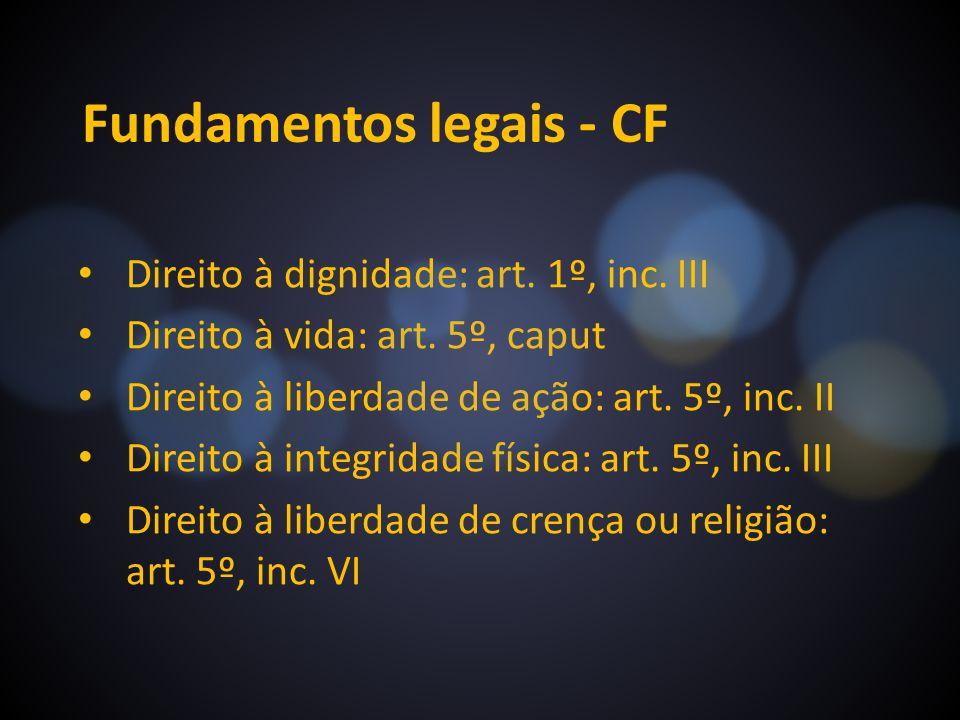 Fundamentos legais - CF