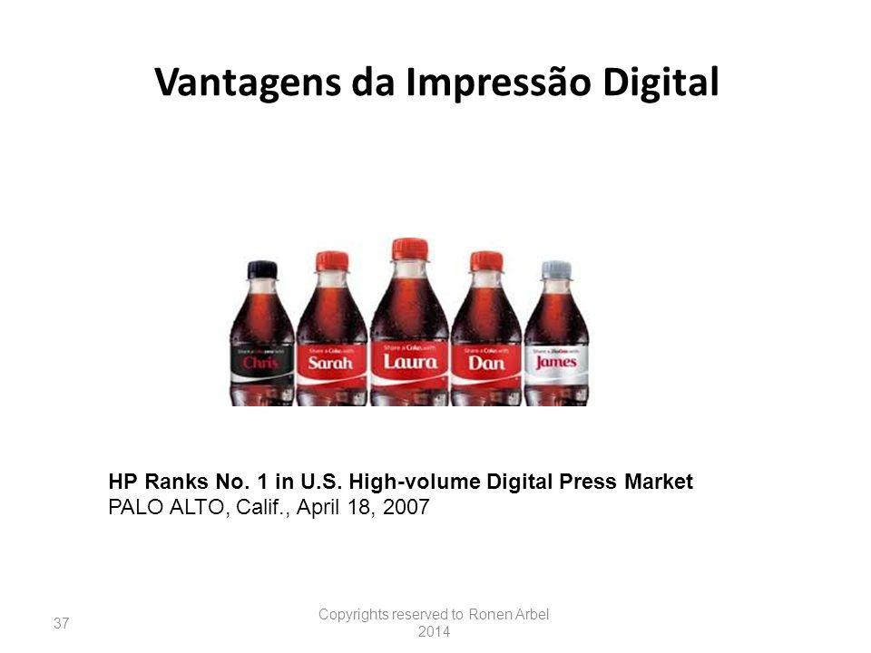 Vantagens da Impressão Digital