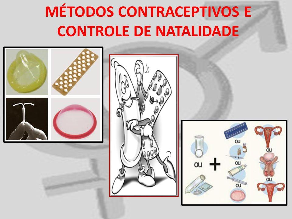 MÉTODOS CONTRACEPTIVOS E CONTROLE DE NATALIDADE