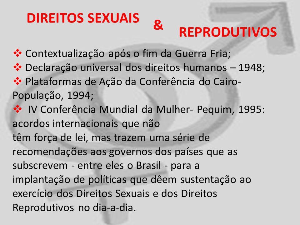 DIREITOS SEXUAIS & REPRODUTIVOS