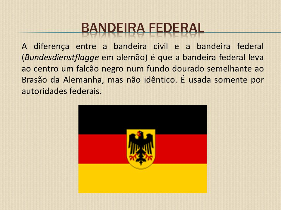 Bandeira federal
