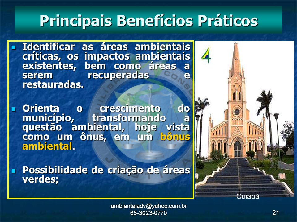 Principais Benefícios Práticos
