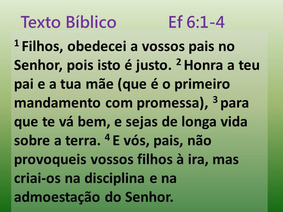 Texto Bíblico Ef 6:1-4