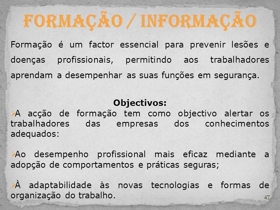 Formação / Informação