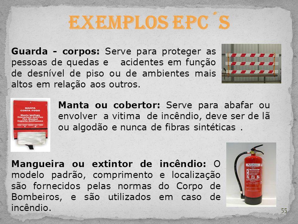 Exemplos EPC´s