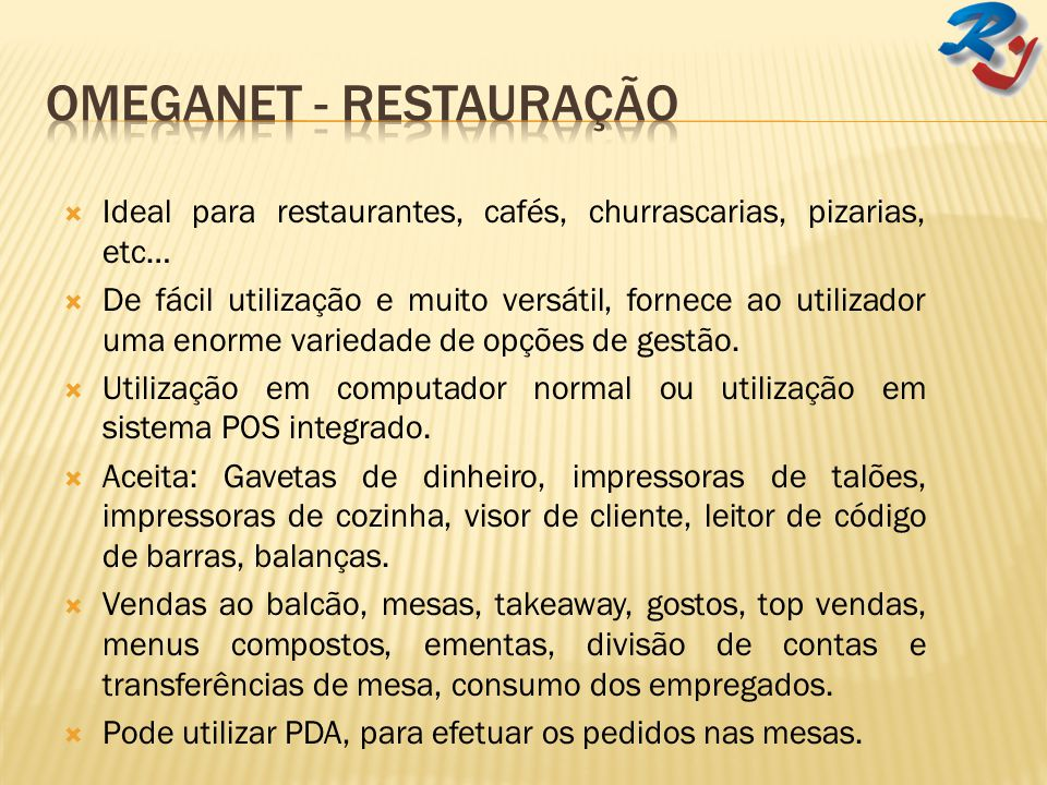 Omeganet - Restauração