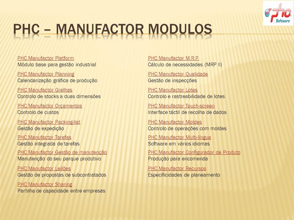 Phc – Manufactor modulos