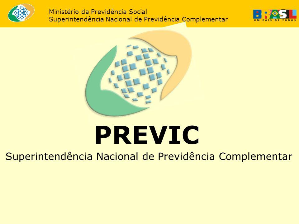 PREVIC Superintendência Nacional de Previdência Complementar