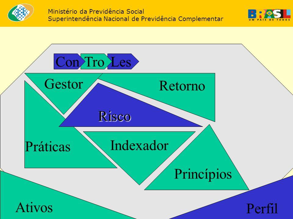 Con Tro Les Gestor Retorno Práticas Risco Princípios Indexador Ativos