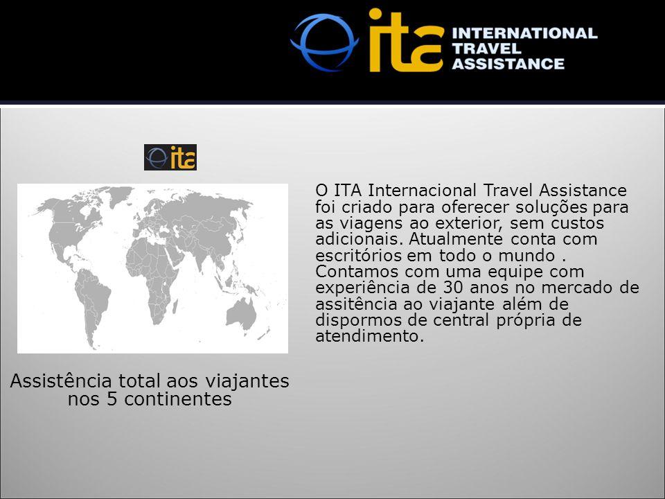 Assistência total aos viajantes nos 5 continentes
