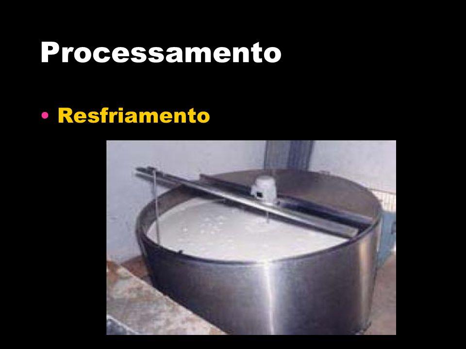 Processamento Resfriamento