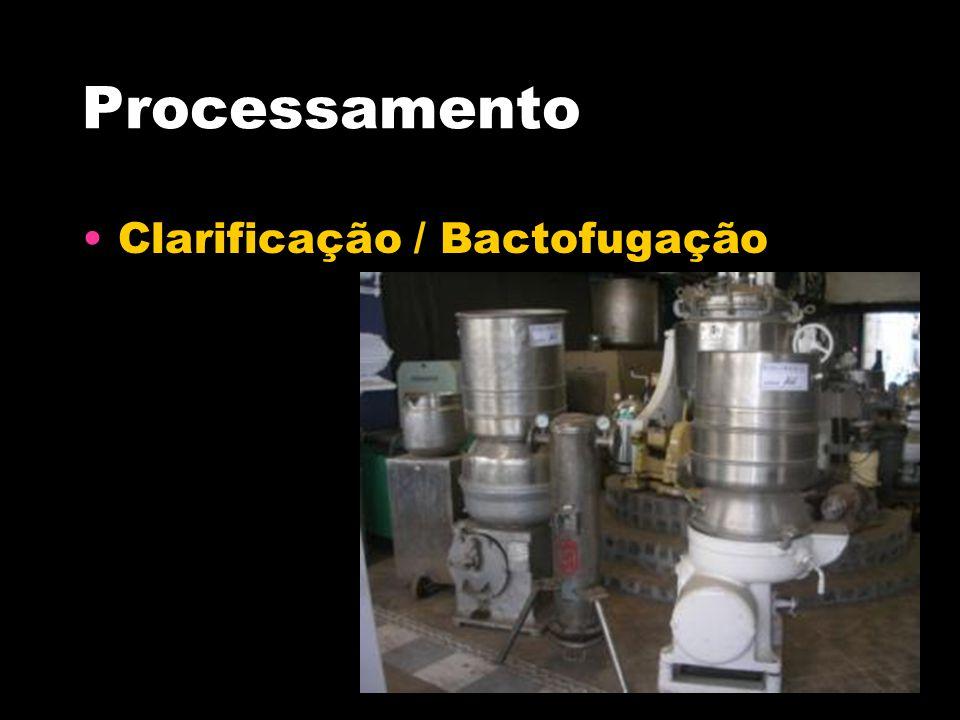 Processamento Clarificação / Bactofugação