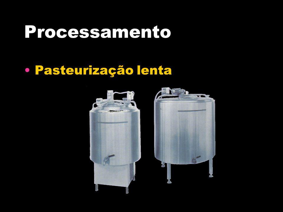 Processamento Pasteurização lenta