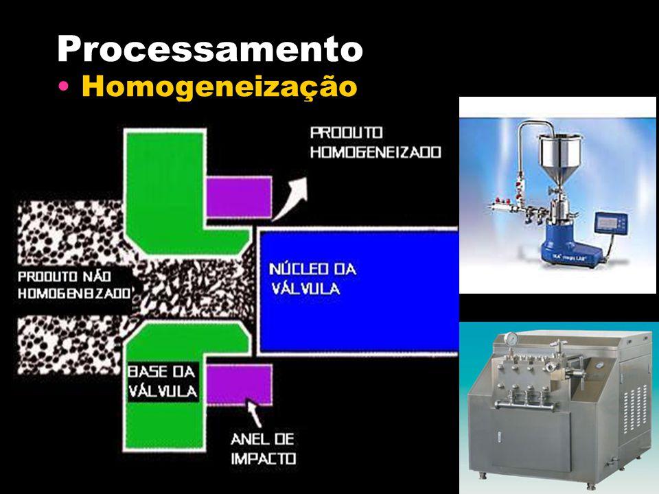 Processamento Homogeneização
