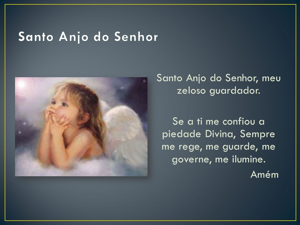 Santo Anjo do Senhor