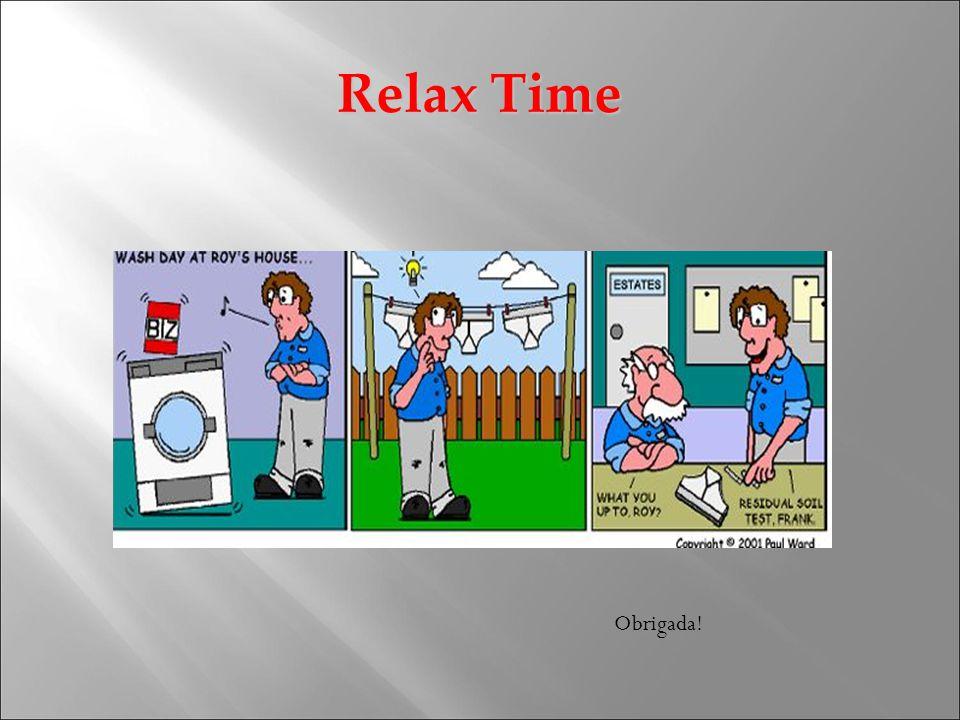 Relax Time Obrigada!