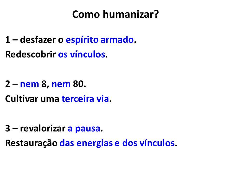 Como humanizar