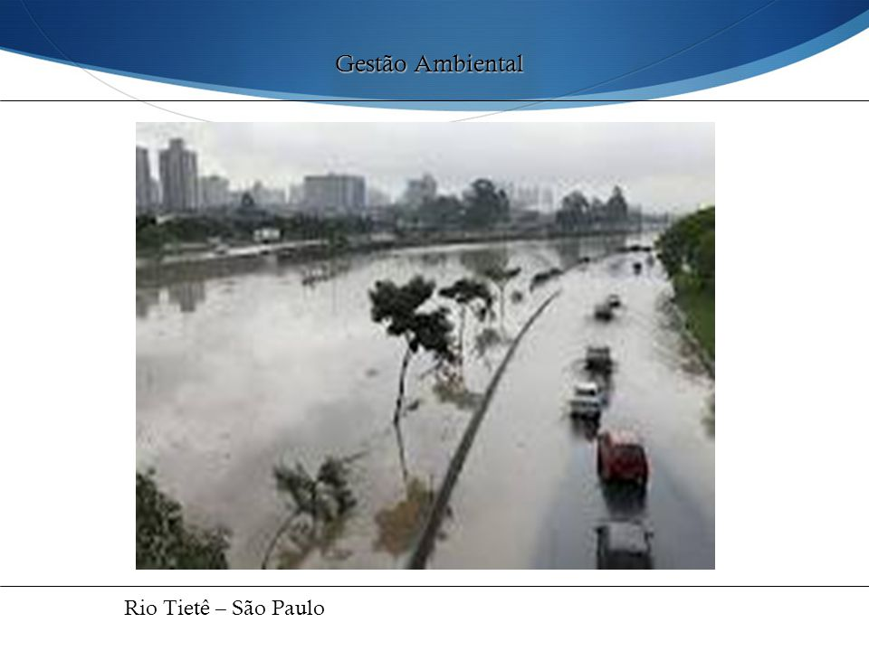 Gestão Ambiental Rio Tietê – São Paulo 37