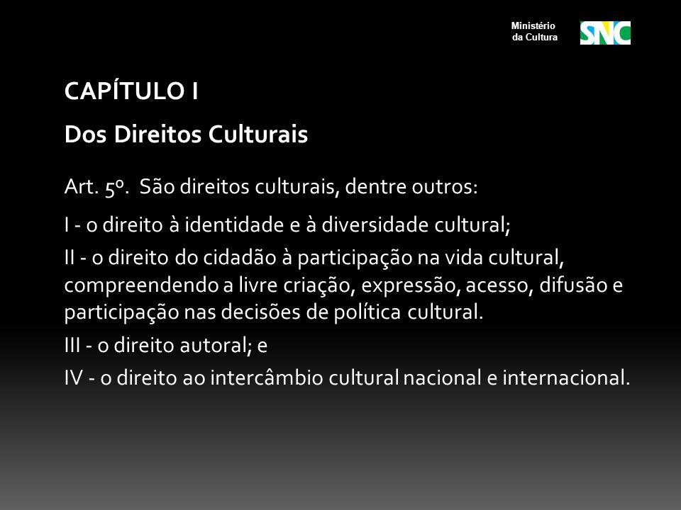 Dos Direitos Culturais