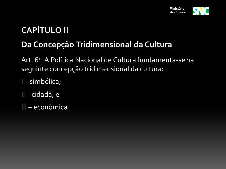 Da Concepção Tridimensional da Cultura