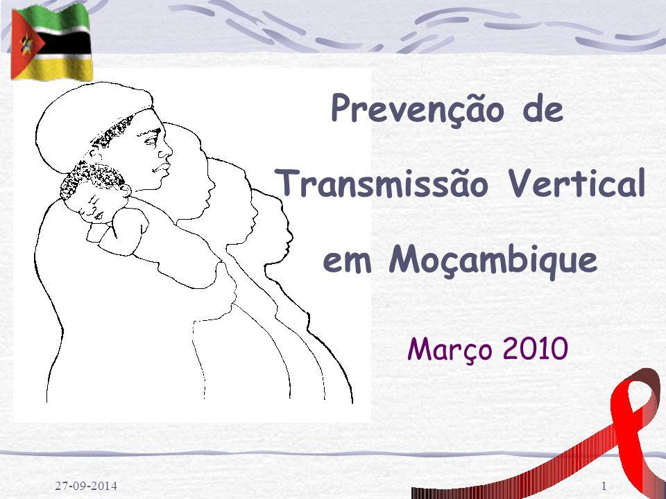 Prevenção de Transmissão Vertical em Moçambique