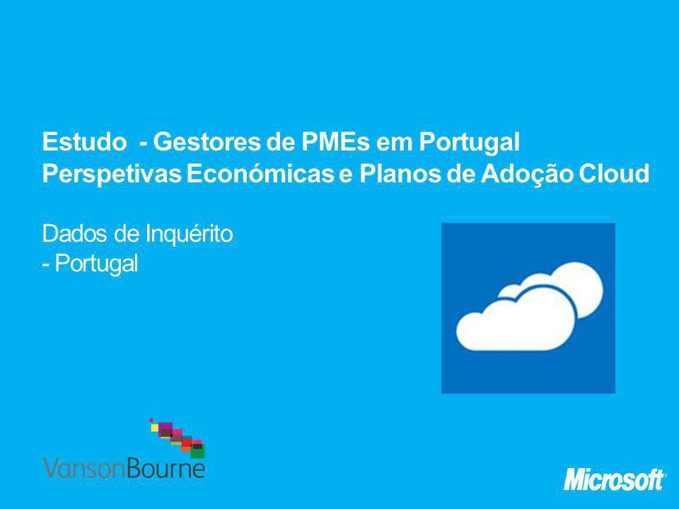 Estudo - Gestores de PMEs em Portugal