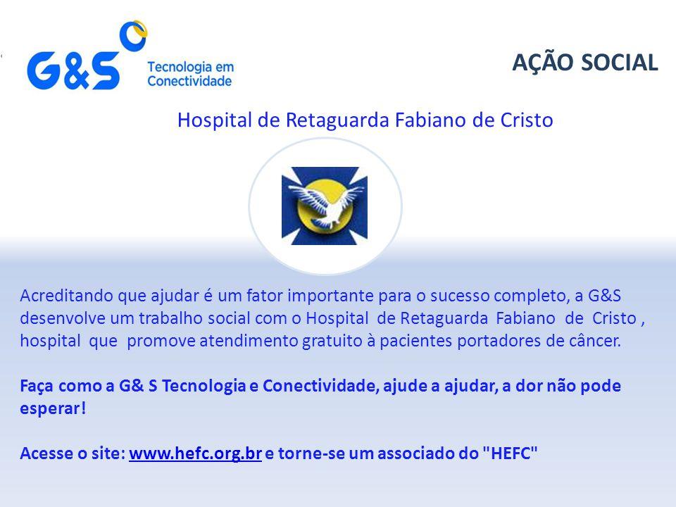 AÇÃO SOCIAL Hospital de Retaguarda Fabiano de Cristo