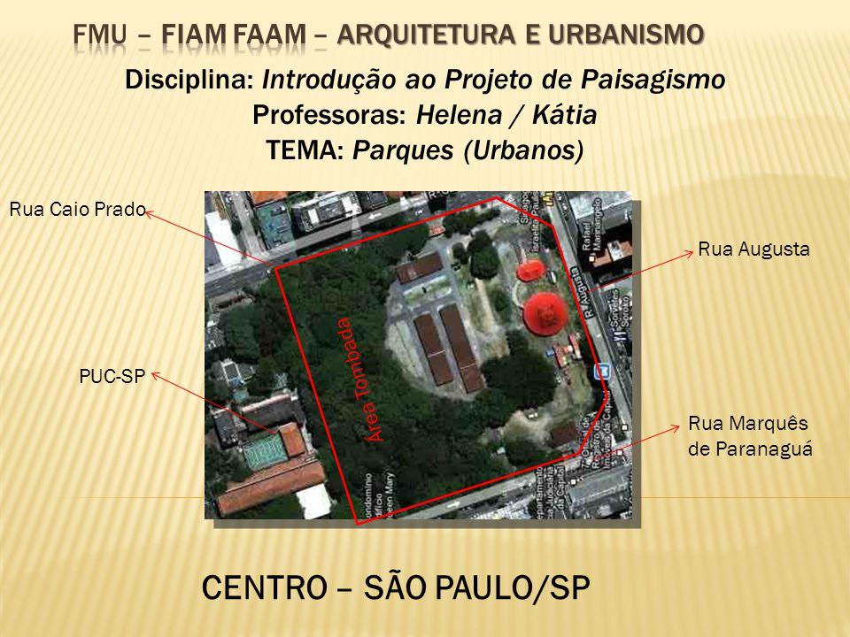 FMU – FIAM FAAM – Arquitetura e Urbanismo