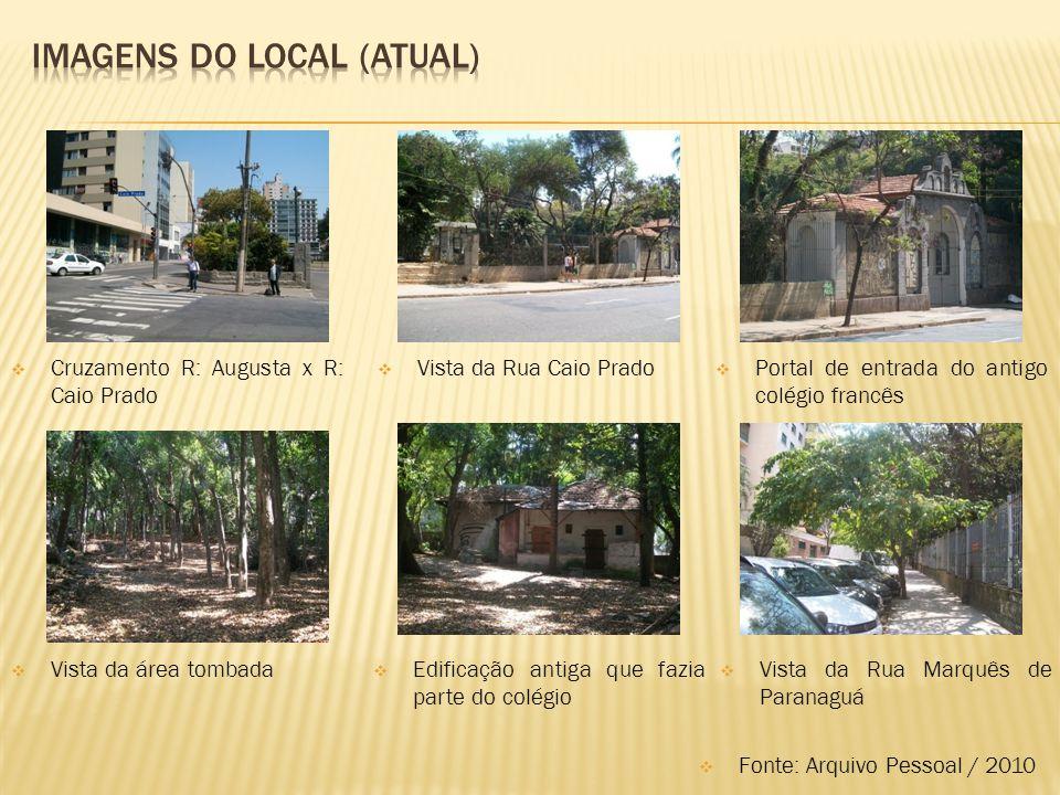 Imagens do local (atual)