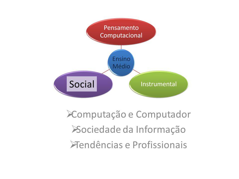 Computação e Computador Sociedade da Informação