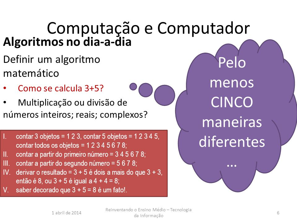 Computação e Computador