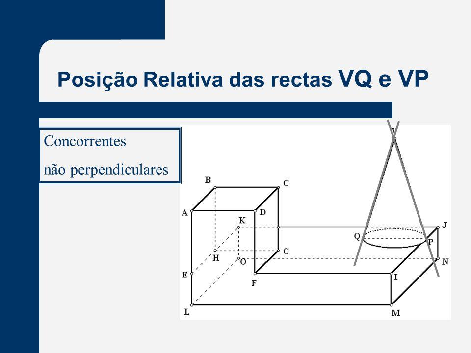 Posição Relativa das rectas VQ e VP