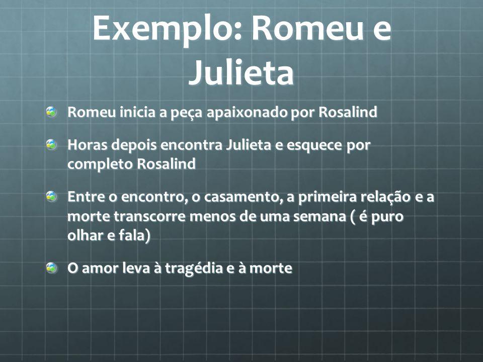 Exemplo: Romeu e Julieta