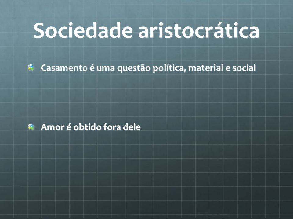Sociedade aristocrática