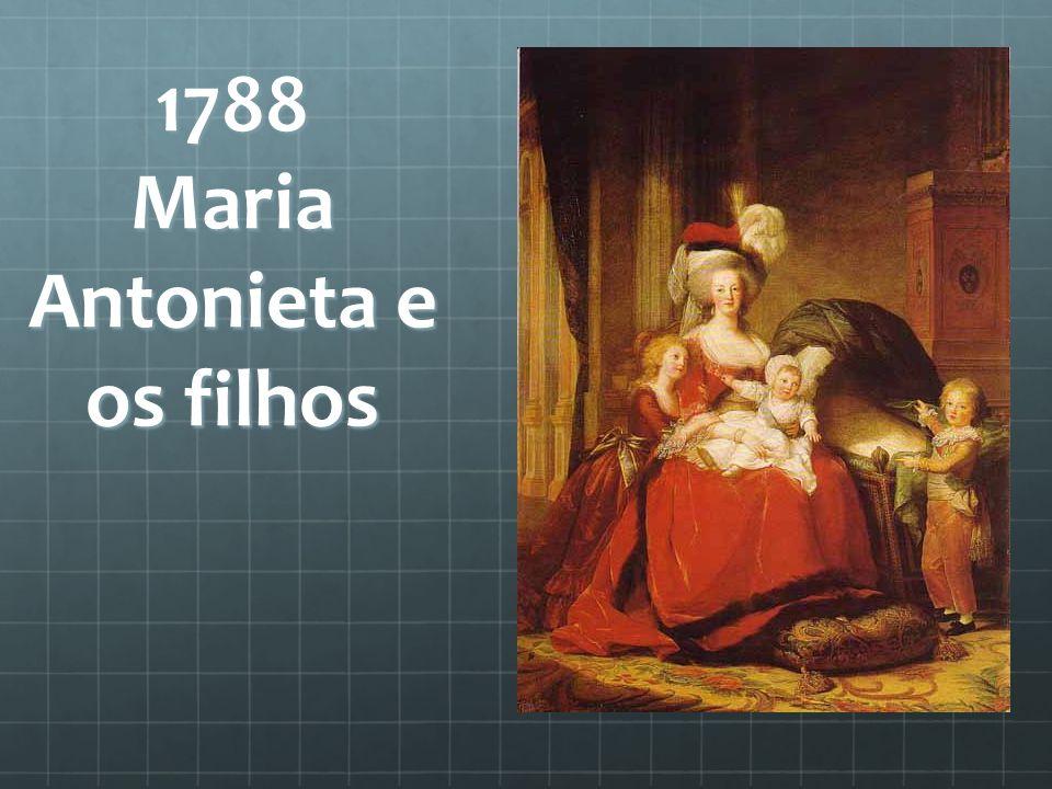 1788 Maria Antonieta e os filhos
