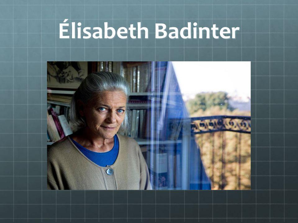Élisabeth Badinter