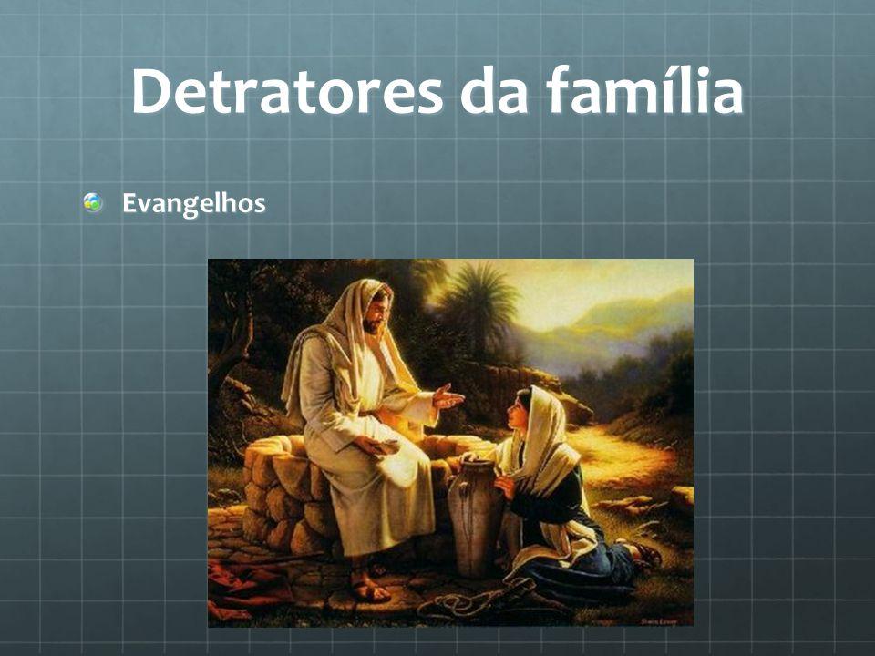 Detratores da família Evangelhos