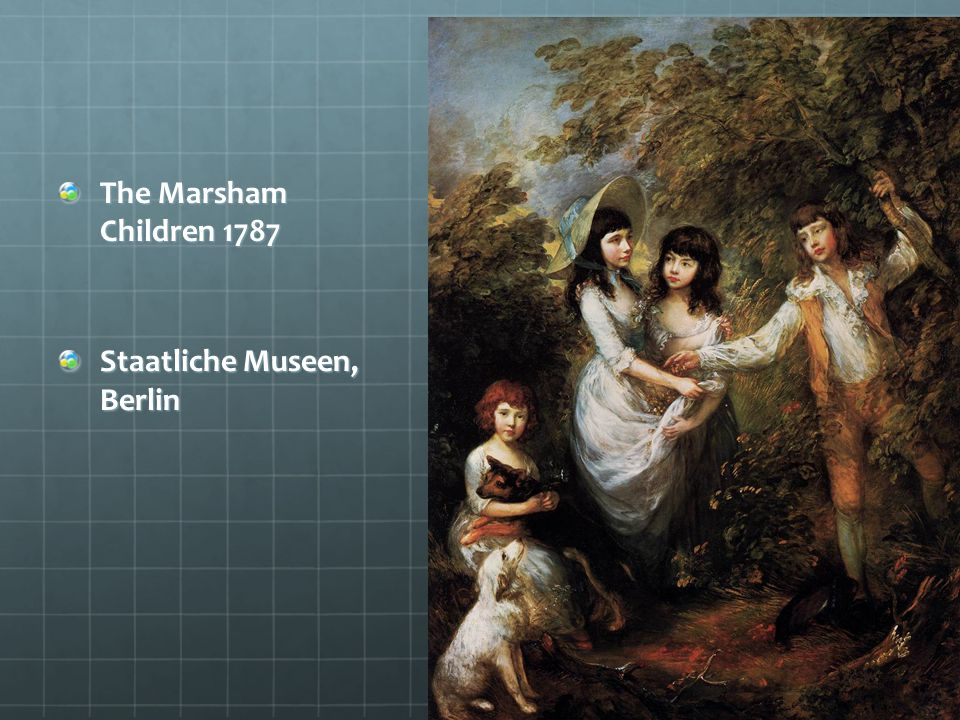 The Marsham Children 1787 Staatliche Museen, Berlin