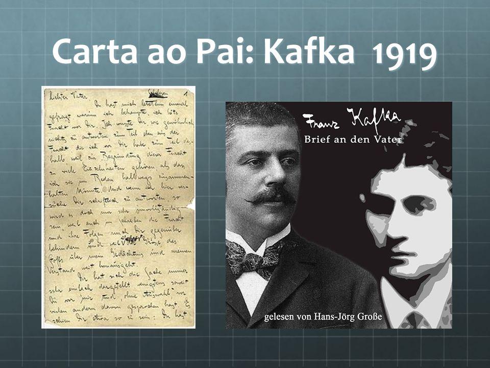 Carta ao Pai: Kafka 1919