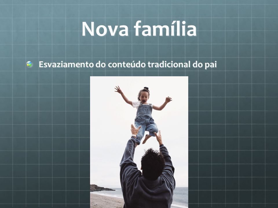 Nova família Esvaziamento do conteúdo tradicional do pai
