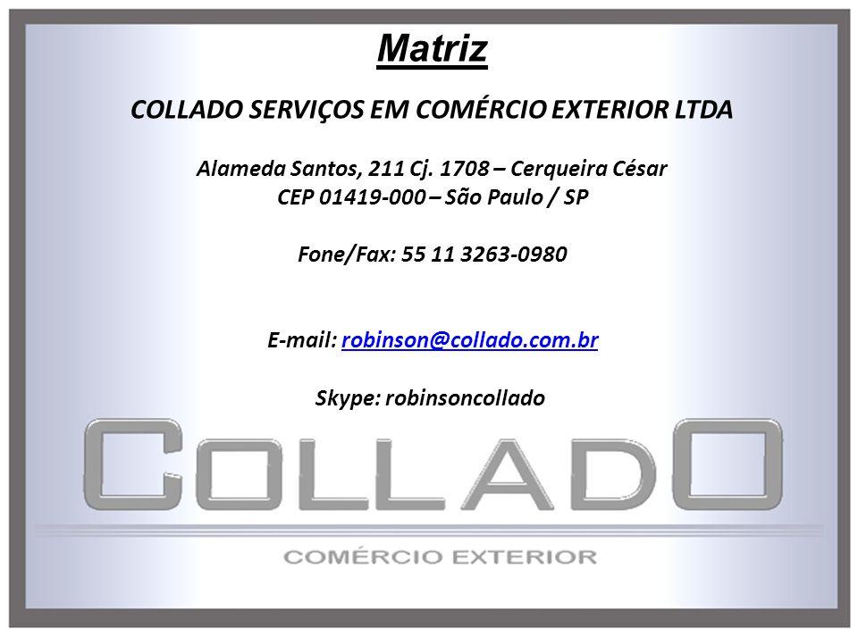 Matriz COLLADO SERVIÇOS EM COMÉRCIO EXTERIOR LTDA